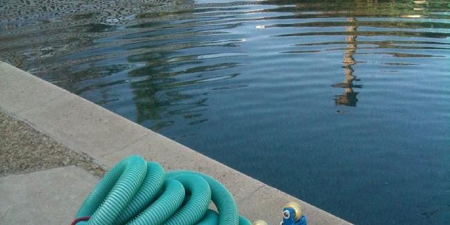 Eau trouble de la piscine les principales raisons - Comment recuperer eau trouble piscine ...