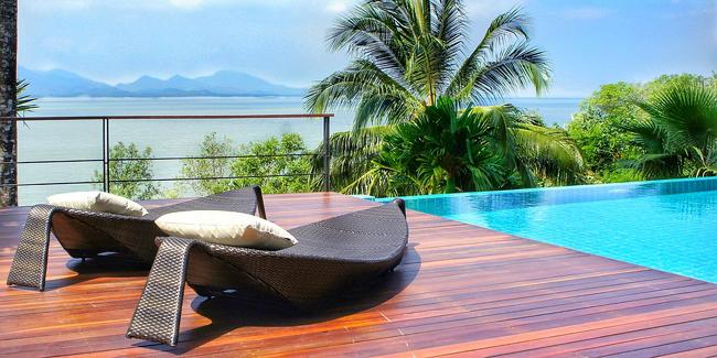 5 idées d\'aménagement décoratif du pourtour de la piscine