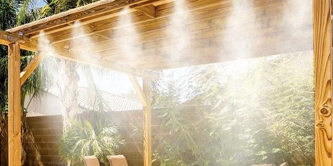 Installer un brumisateur sur sa terrasse : principe, installation et coût de pose