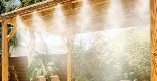 Installer un brumisateur sur sa terrasse : principe, installation et prix de pose